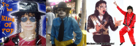 Michael Jackson Sósias
