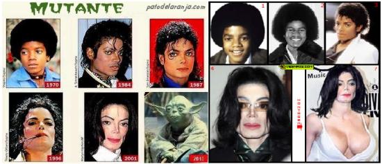 Michael Jackson Transformações