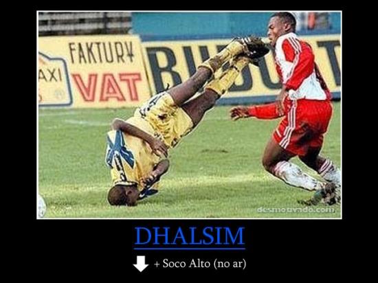 Golpe de Dhalsim