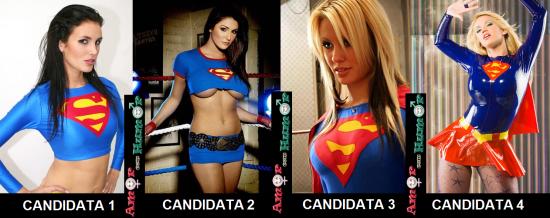 Candidatas a Supergirl